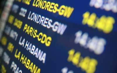Fluganzeige: Reisekosten richtig abrechnen / Quelle: Fotolia