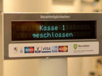 Kasse: Auch bei Unterhaltszahlungen ist mal Schluss / Quelle: Stockata.de
